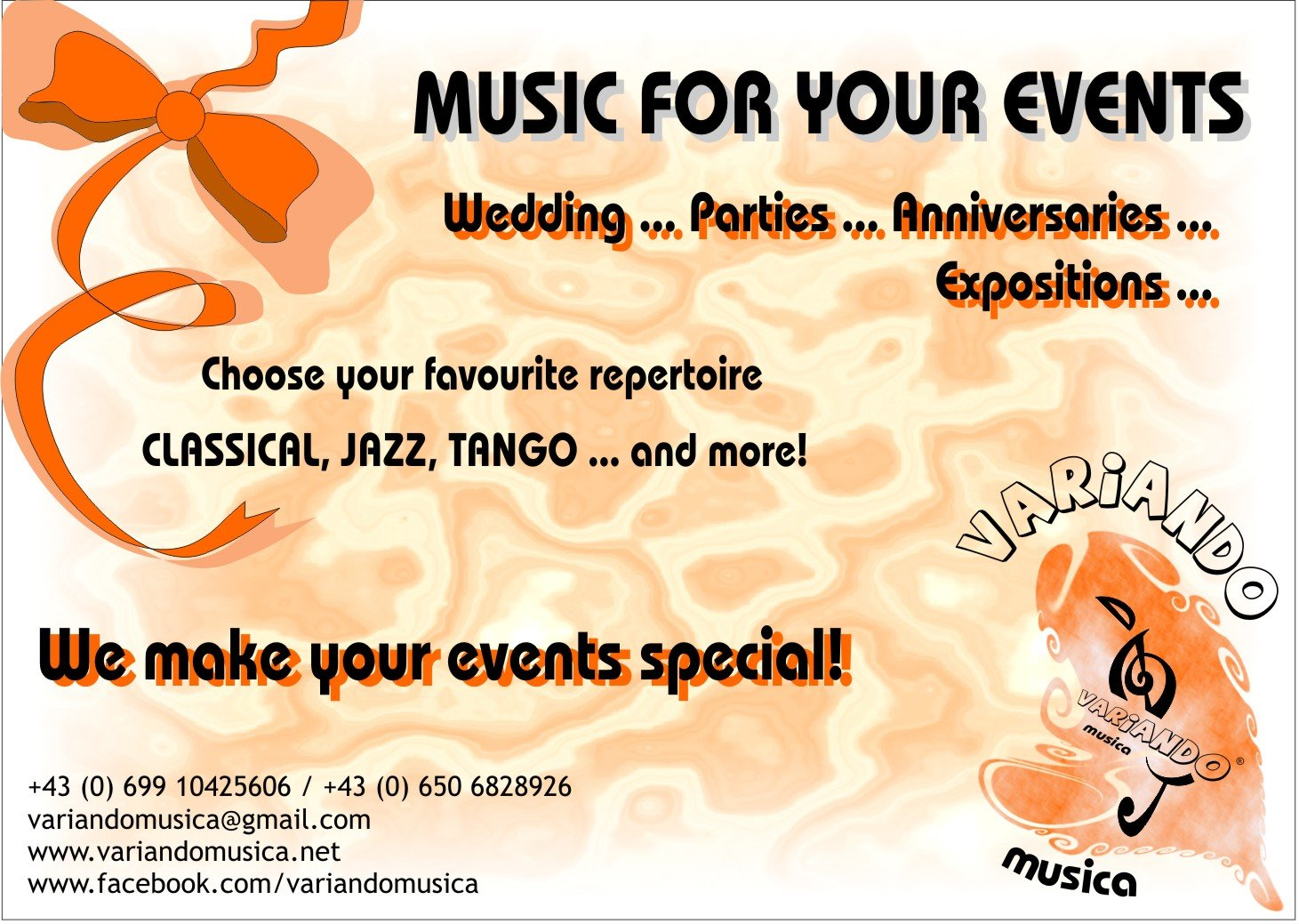 music for your events